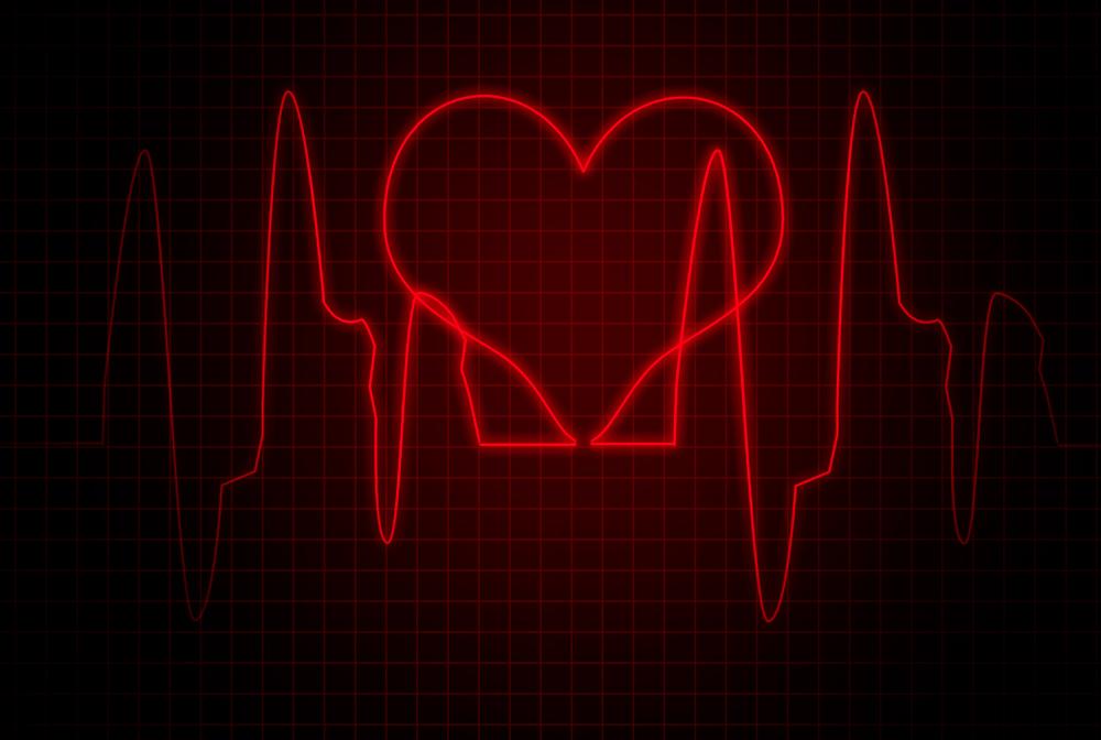 heart literally skips a beat