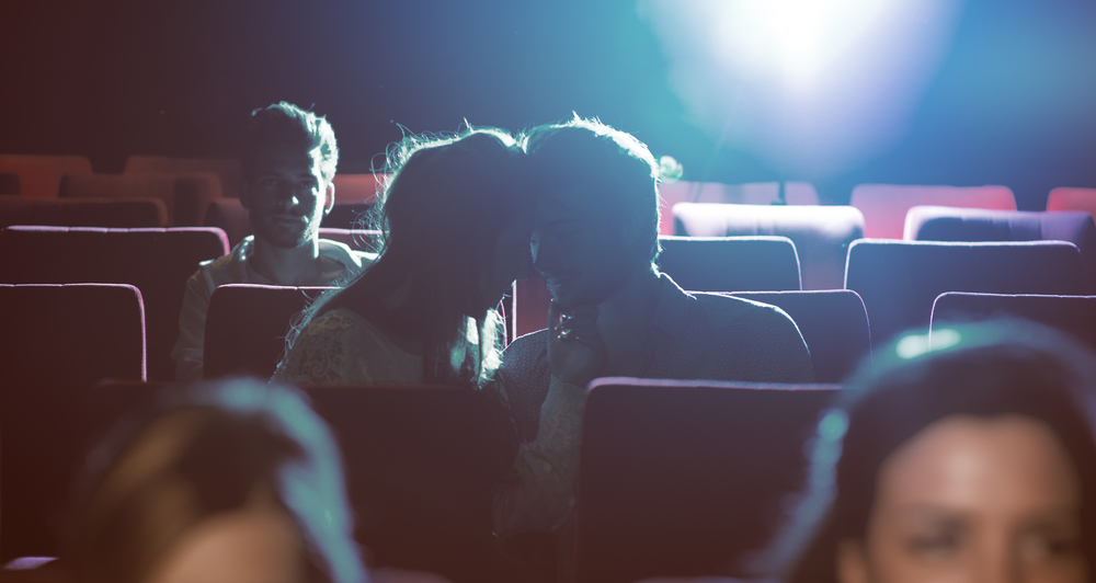 Dark Movie Theater