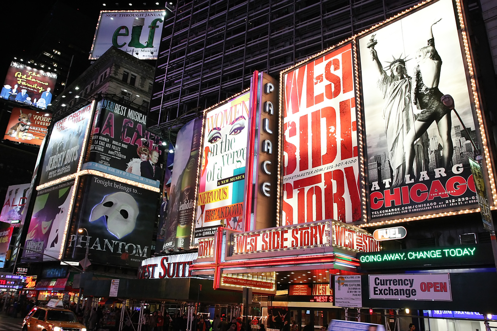 Catching a Broadway Show